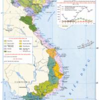 """Hướng dẫn sử dụng Atlat địa lí Việt Nam trang """"Các hệ thống Sông"""" (tr. 10)"""