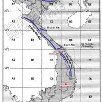 Bài 13. Thực hành: Đọc bản đồ địa hình, điền vào lược đồ trống một số dãy núi và đỉnh núi (Địa lý 12)