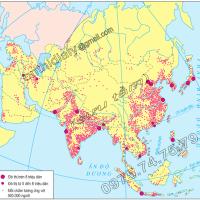 Bài 4. Thực hành: Xác định một số phương pháp biểu hiện các đối tượng địa lí trên bản đồ (Địa lý 10)