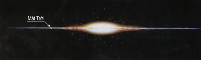 Hinh 5.1. Vị trí Mặt Trời trong Dải Ngân Hà
