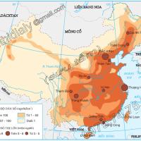Bài 10 - Tiết 1. Tự nhiên, dân cư và xã hội Trung Quốc (Địa lý 11)