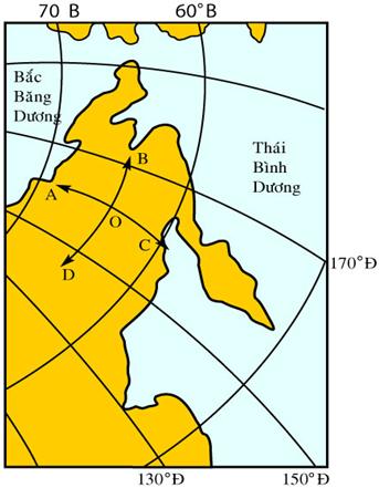 Hinh 13. Bản đồ khu vực Đông Bắc Á