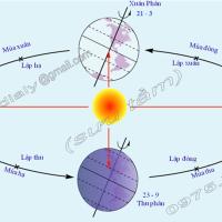 Bài 8. Sự chuyển động của Trái Đất quanh Mặt Trời (Địa lý 6)