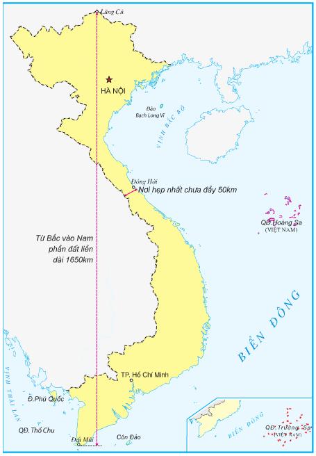 Hinh 2. Lược đồ Việt Nam