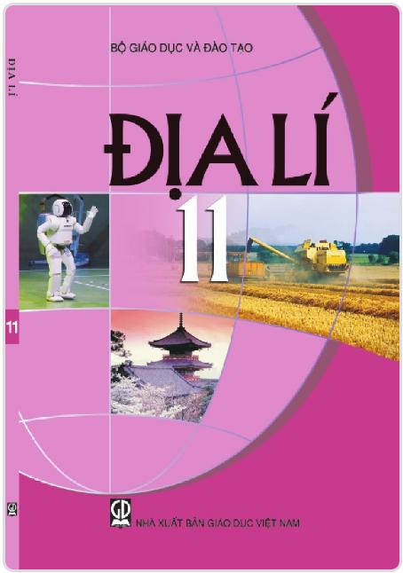 Bìa SGK Địa lý 11