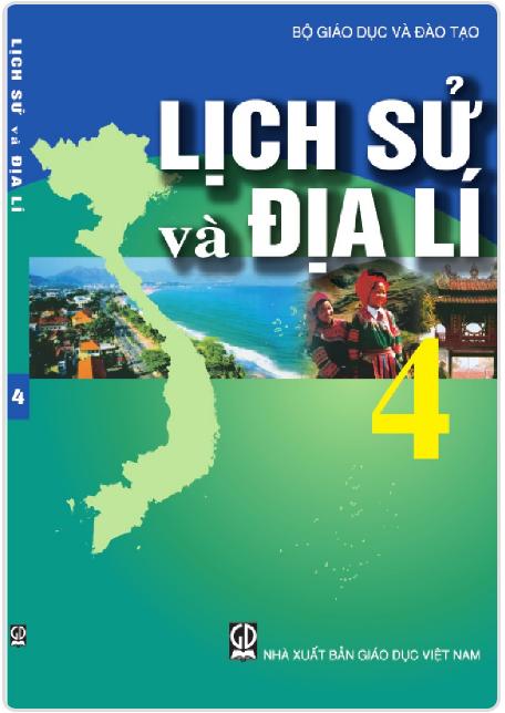 Bìa SGK Địa lý 4
