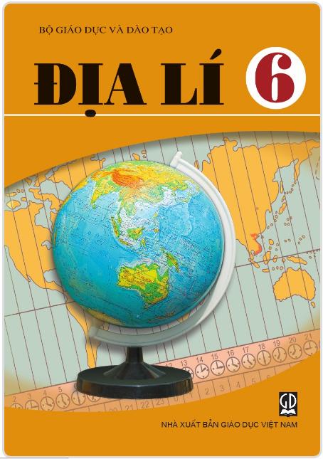 Bìa SGK Địa lý 6