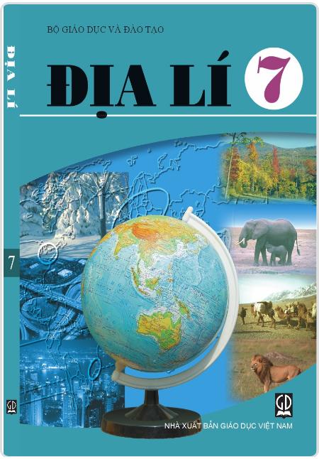 Bìa SGK Địa lý 7