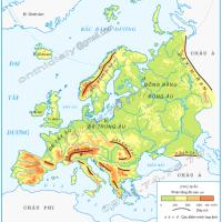 Bài 20. Châu Âu (Địa lý 5)