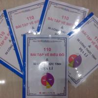 110 bài tập vẽ Biểu đồ và 50 Công thức tính trong môn Địa lý