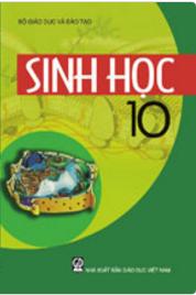 Bìa SGK Sinh học 10