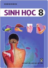 Bìa SGK Sinh học 8